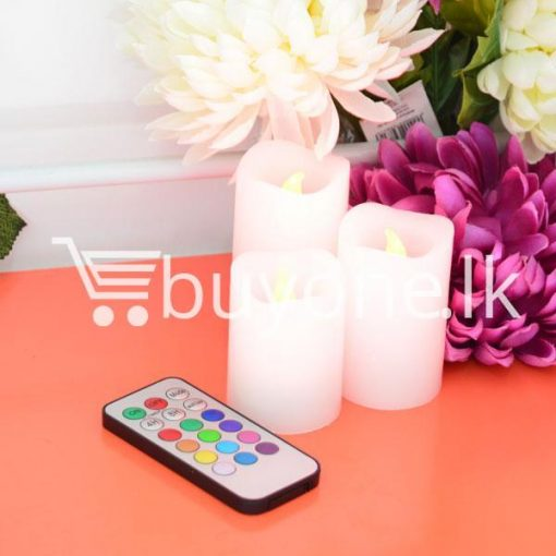 wireless romantic luma color changing candles for party birthday christmas valentine home and kitchen special best offer buy one lk sri lanka 42166 510x510 - Wireless Romantic Luma Color Changing Candles For Party, Birthday, Christmas, Valentine