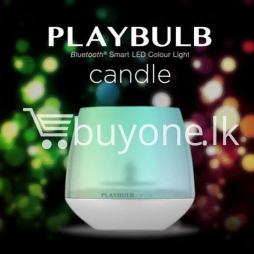 wireless smart led playbulb electric candle night light for iphone htc samsung home and kitchen special best offer buy one lk sri lanka 72412 1 510x510 - Wireless Smart LED Playbulb Electric Candle night light For iPhone, HTC, Samsung