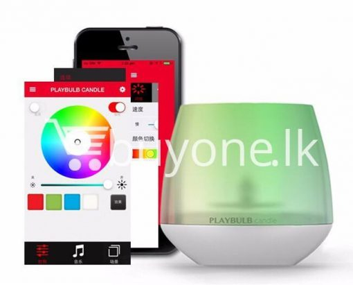 wireless smart led playbulb electric candle night light for iphone htc samsung home and kitchen special best offer buy one lk sri lanka 72412 510x411 - Wireless Smart LED Playbulb Electric Candle night light For iPhone, HTC, Samsung