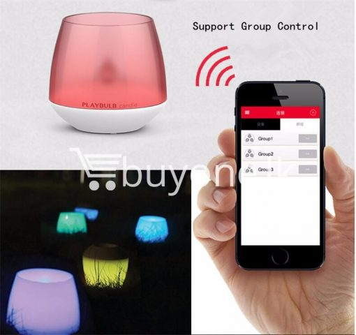 wireless smart led playbulb electric candle night light for iphone htc samsung home and kitchen special best offer buy one lk sri lanka 72413 2 510x480 - Wireless Smart LED Playbulb Electric Candle night light For iPhone, HTC, Samsung