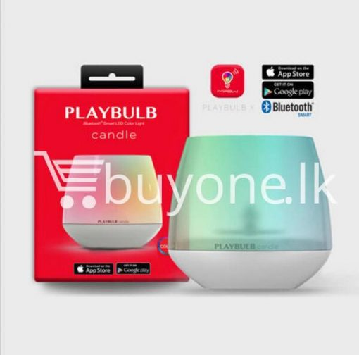 wireless smart led playbulb electric candle night light for iphone htc samsung home and kitchen special best offer buy one lk sri lanka 72413 510x504 - Wireless Smart LED Playbulb Electric Candle night light For iPhone, HTC, Samsung