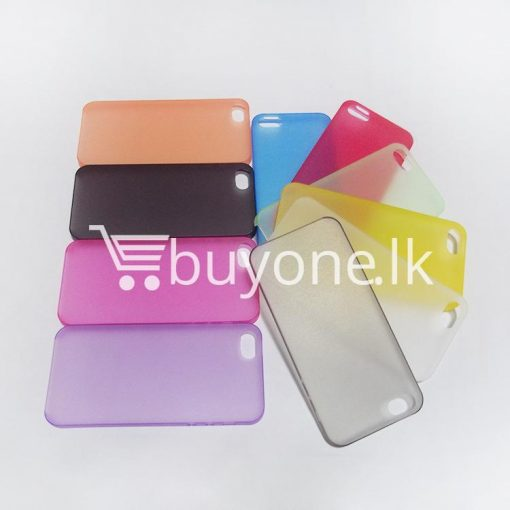 ultra thin translucent slim soft iphone case for iphone 5 5s mobile phone accessories special best offer buy one lk sri lanka 06258 510x510 - Ultra thin Translucent Slim Soft iPhone case for iPhone 5 & 5S