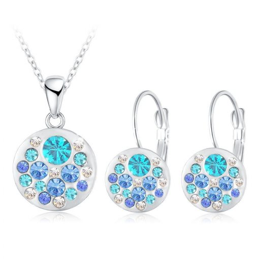 2016 new 18k rose gold plated pendantearrings jewelry set jewelry sets special best offer buy one lk sri lanka 63909 510x510 - 2016 New 18K Rose Gold Plated Pendant/Earrings Jewelry Set
