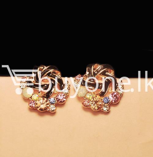 2016 new upscale temperament rhinestone stud earrings jewelry earrings special best offer buy one lk sri lanka 63035 1 - 2016 New Upscale Temperament Rhinestone Stud Earrings Jewelry