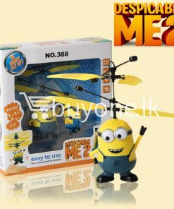 new arrival flying helicopter toy minion despicable me with free remote baby care toys special best offer buy one lk sri lanka 86086 247x296 - New Arrival : Flying Helicopter Toy Minion Despicable Me with Free Remote