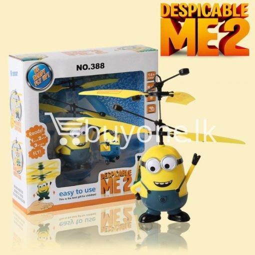new arrival flying helicopter toy minion despicable me with free remote baby care toys special best offer buy one lk sri lanka 86086 510x510 - New Arrival : Flying Helicopter Toy Minion Despicable Me with Free Remote