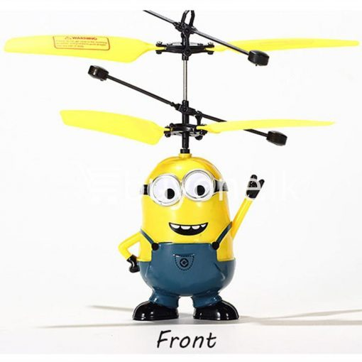 new arrival flying helicopter toy minion despicable me with free remote baby care toys special best offer buy one lk sri lanka 86087 510x510 - New Arrival : Flying Helicopter Toy Minion Despicable Me with Free Remote