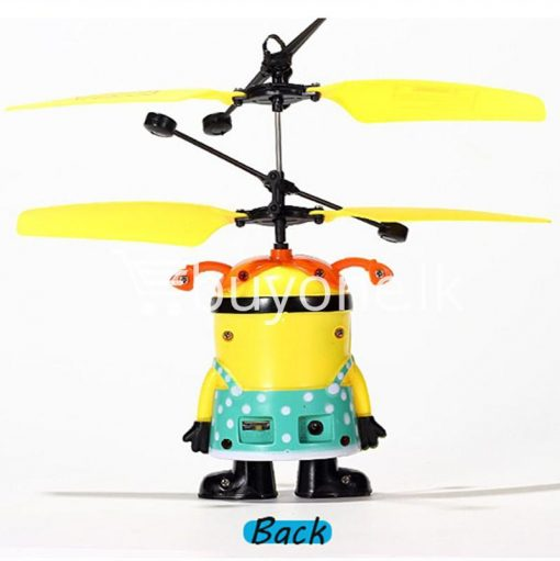 new arrival flying helicopter toy minion despicable me with free remote baby care toys special best offer buy one lk sri lanka 86088 510x511 - New Arrival : Flying Helicopter Toy Minion Despicable Me with Free Remote