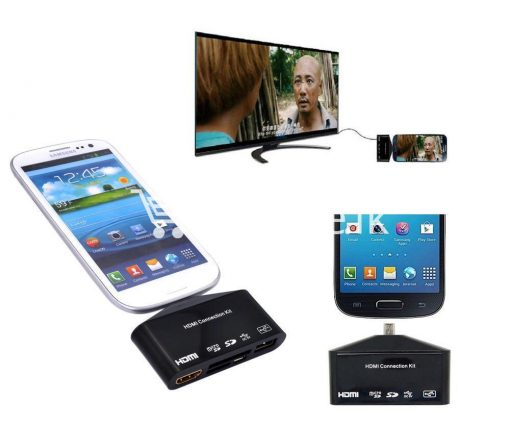 hdtv tv adapter with otg card reader for samsung galaxy s3 s4 s5 i9300 i9500 note 2 3 4 edge mobile phone accessories special best offer buy one lk sri lanka 97594 510x424 - HDTV TV Adapter with OTG Card Reader for Samsung Galaxy S3, S4, S5, i9300, i9500, Note 2 3 4 Edge