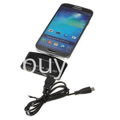 hdtv tv adapter with otg card reader for samsung galaxy s3 s4 s5 i9300 i9500 note 2 3 4 edge mobile phone accessories special best offer buy one lk sri lanka 97595 - HDTV TV Adapter with OTG Card Reader for Samsung Galaxy S3, S4, S5, i9300, i9500, Note 2 3 4 Edge