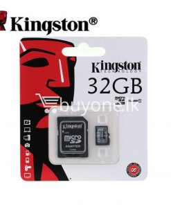 32gb kingston memory card micro sd class 10 sdhc with adapter mobile phone accessories special best offer buy one lk sri lanka 23382 247x296 - 32GB Kingston Memory Card Micro SD Class 10 SDHC with Adapter
