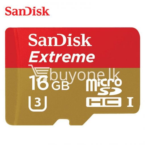 original 16gb sandisk extreme microsdhc uhs i memory card with adapter camera store special best offer buy one lk sri lanka 83816 510x510 - Original 16GB Sandisk Extreme microSDHC UHS-I Memory Card With Adapter