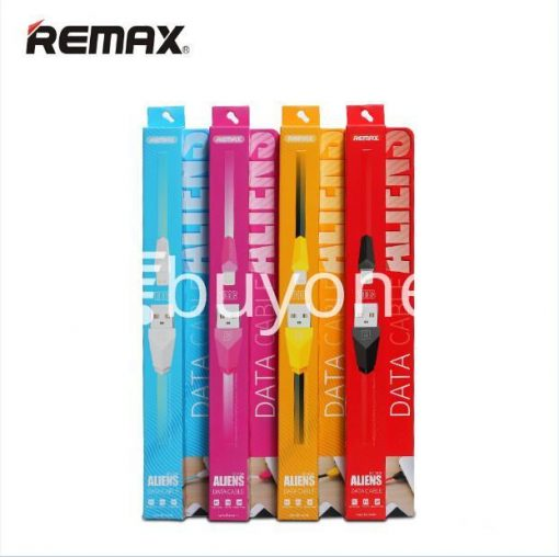 original remax alien series mobile phone cable fast charging data sync cable mobile phone accessories special best offer buy one lk sri lanka 24971 510x508 - Original Remax Alien Series Mobile Phone Cable Fast Charging Data Sync Cable