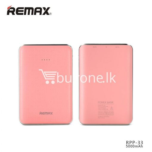 original remax tiger rpp 33 5000mah portable dual usb power bank mini external battery mobile phone accessories special best offer buy one lk sri lanka 25461 510x510 - Original Remax Tiger RPP-33 5000mAh Portable Dual USB Power Bank Mini External Battery