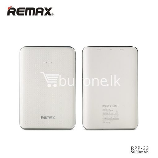 original remax tiger rpp 33 5000mah portable dual usb power bank mini external battery mobile phone accessories special best offer buy one lk sri lanka 25463 510x510 - Original Remax Tiger RPP-33 5000mAh Portable Dual USB Power Bank Mini External Battery