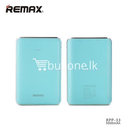 original remax tiger rpp 33 5000mah portable dual usb power bank mini external battery mobile phone accessories special best offer buy one lk sri lanka 25464 510x510 - Original Remax Tiger RPP-33 5000mAh Portable Dual USB Power Bank Mini External Battery