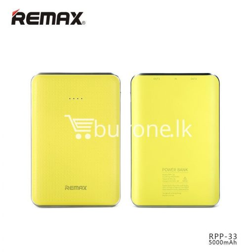 original remax tiger rpp 33 5000mah portable dual usb power bank mini external battery mobile phone accessories special best offer buy one lk sri lanka 25465 510x510 - Original Remax Tiger RPP-33 5000mAh Portable Dual USB Power Bank Mini External Battery