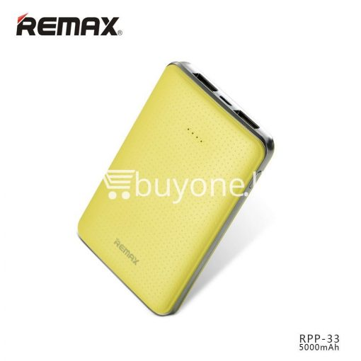 original remax tiger rpp 33 5000mah portable dual usb power bank mini external battery mobile phone accessories special best offer buy one lk sri lanka 25467 510x510 - Original Remax Tiger RPP-33 5000mAh Portable Dual USB Power Bank Mini External Battery