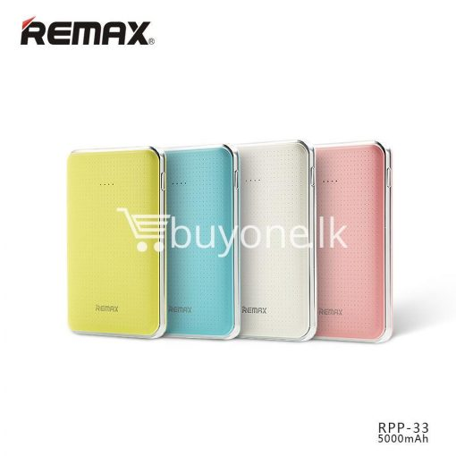 original remax tiger rpp 33 5000mah portable dual usb power bank mini external battery mobile phone accessories special best offer buy one lk sri lanka 25469 510x510 - Original Remax Tiger RPP-33 5000mAh Portable Dual USB Power Bank Mini External Battery