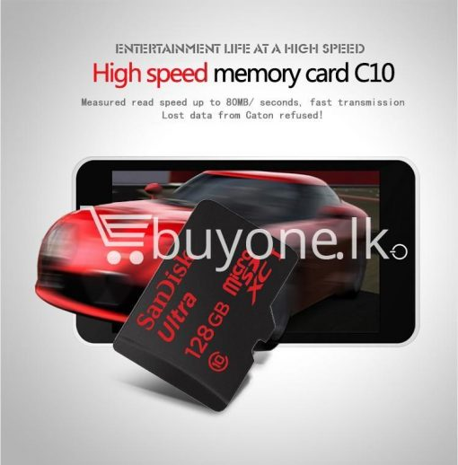 original sandisk 128gb ultra memory card micro sd card mobile store special best offer buy one lk sri lanka 79241 510x518 - Original SanDisk 128gb Ultra memory card micro SD Card with Adapter
