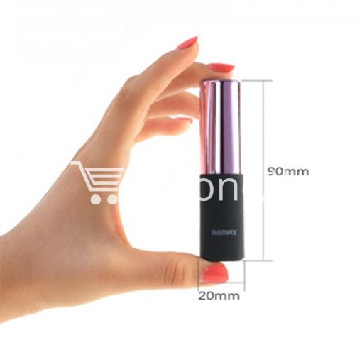 remax 2600mah fashion luxury lipstick power bank mobile phone accessories special best offer buy one lk sri lanka 23658 510x510 - REMAX 2600mAh Fashion Luxury Lipstick Power Bank