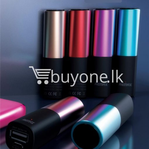remax 2600mah fashion luxury lipstick power bank mobile phone accessories special best offer buy one lk sri lanka 23660 510x510 - REMAX 2600mAh Fashion Luxury Lipstick Power Bank