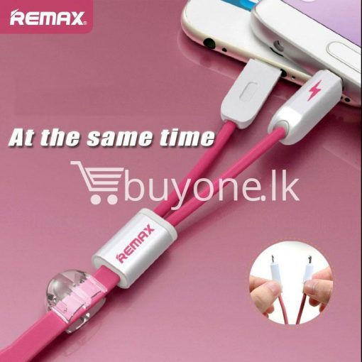 remax micro usb cable to lighting gemini transfer for android iphone 6 5s charge at same time mobile store special best offer buy one lk sri lanka 28170 510x510 - Remax Micro USB Cable to Lighting Gemini Transfer For Android iPhone 6 5S Charge At Same Time