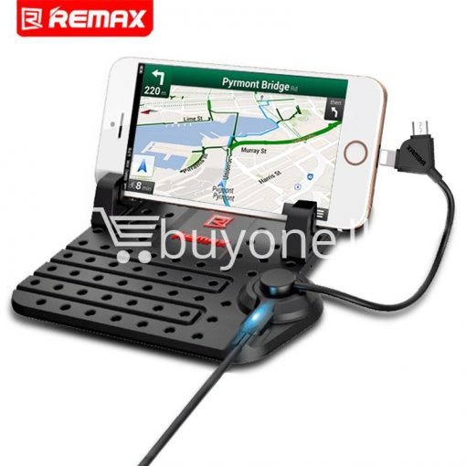 remax universal car holder with 2 in 1 charging output mobile phone accessories special best offer buy one lk sri lanka 18280 510x510 - Remax Universal Car Holder with 2 in 1 Charging Output