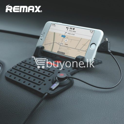 remax universal car holder with 2 in 1 charging output mobile phone accessories special best offer buy one lk sri lanka 18283 510x510 - Remax Universal Car Holder with 2 in 1 Charging Output