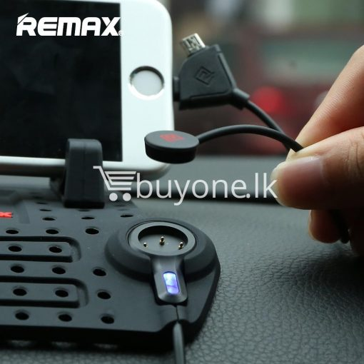 remax universal car holder with 2 in 1 charging output mobile phone accessories special best offer buy one lk sri lanka 18284 510x510 - Remax Universal Car Holder with 2 in 1 Charging Output