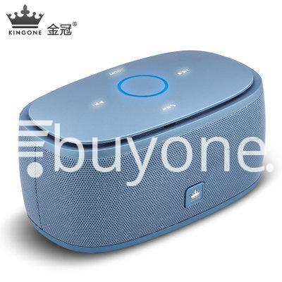 100 genuine kingone super bass portable wireless speaker touch friendly with iron box mobile phone accessories special best offer buy one lk sri lanka 85282 - 100% Genuine Kingone Super Bass Portable Wireless Speaker Touch Friendly with Iron Box