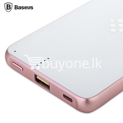 baseus wireless charging base with fast charger power bank 5000mah for iphone samsung htc mi mobile phones mobile phone accessories special best offer buy one lk sri lanka 74386 510x510 - BASEUS Wireless Charging Base with Fast Charger Power Bank 5000mAh For iPhone Samsung HTC MI Mobile Phones