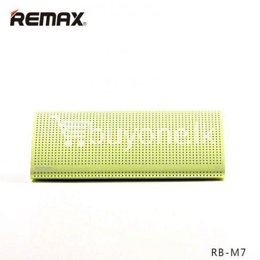 new original remax bluetooth aluminum alloy metal speaker computer accessories special best offer buy one lk sri lanka 56959 510x510 - New Original Remax Bluetooth Aluminum Alloy Metal Speaker