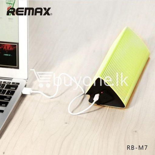 new original remax bluetooth aluminum alloy metal speaker computer accessories special best offer buy one lk sri lanka 56960 510x510 - New Original Remax Bluetooth Aluminum Alloy Metal Speaker