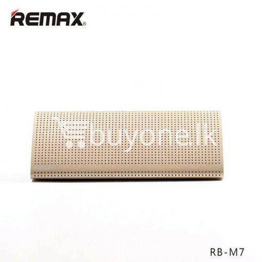 new original remax bluetooth aluminum alloy metal speaker computer accessories special best offer buy one lk sri lanka 56961 510x510 - New Original Remax Bluetooth Aluminum Alloy Metal Speaker