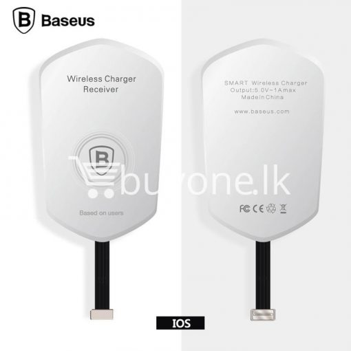 original baseus qi wireless charger charging receiver for iphone android mobile phone accessories special best offer buy one lk sri lanka 72709 510x510 - Original Baseus QI Wireless Charger Charging Receiver For iPhone Android