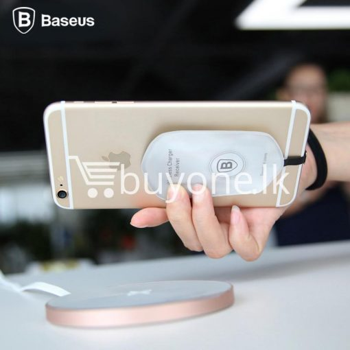 original baseus qi wireless charger charging receiver for iphone android mobile phone accessories special best offer buy one lk sri lanka 72712 510x510 - Original Baseus QI Wireless Charger Charging Receiver For iPhone Android
