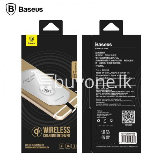 original baseus qi wireless charger charging receiver for iphone android mobile phone accessories special best offer buy one lk sri lanka 72715 510x510 - Original Baseus QI Wireless Charger Charging Receiver For iPhone Android
