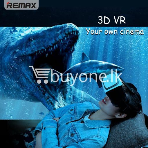 original remax vr box vr rt v01 virtual reality 3d glasses mobile phone accessories special best offer buy one lk sri lanka 11092 510x510 - Original Remax VR BOX  VR RT-V01 Virtual Reality 3D Glasses