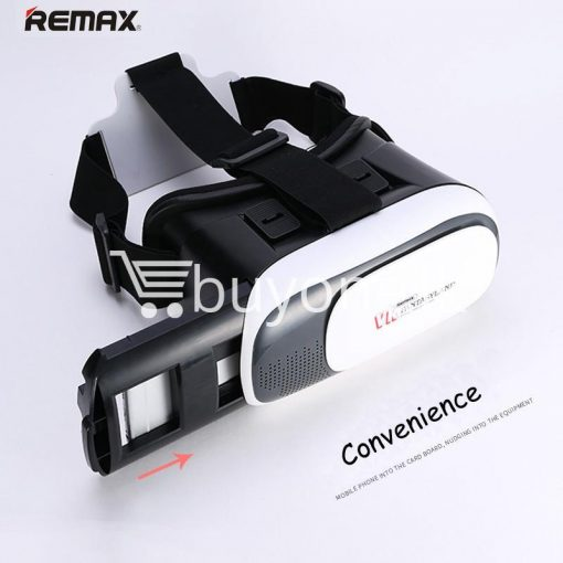 original remax vr box vr rt v01 virtual reality 3d glasses mobile phone accessories special best offer buy one lk sri lanka 11095 510x510 - Original Remax VR BOX  VR RT-V01 Virtual Reality 3D Glasses