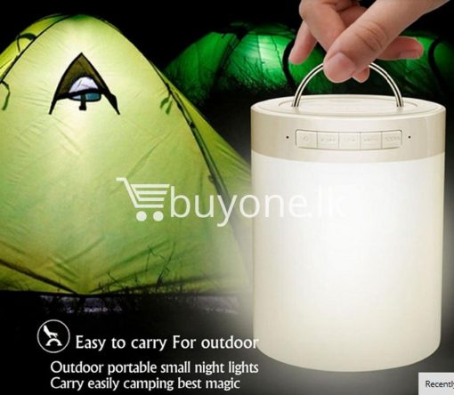 portable touch led lamp night light wireless bluetooth speaker mobile phone accessories special best offer buy one lk sri lanka 11966 510x444 - Portable Touch LED Lamp Night Light Wireless Bluetooth Speaker