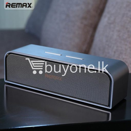 remax rb m8 portable aluminum wireless bluetooth 4.0 speakers with clear bass computer accessories special best offer buy one lk sri lanka 57640 510x510 - REMAX RB-M8 Portable Aluminum Wireless Bluetooth 4.0 Speakers with Clear Bass