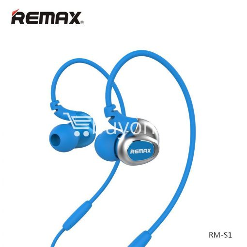 remax s1 stereo sport earphones deep bass music earbuds with microphone mobile phone accessories special best offer buy one lk sri lanka 48024 510x510 - Remax S1 Stereo Sport Earphones Deep Bass Music Earbuds with Microphone