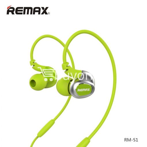 remax s1 stereo sport earphones deep bass music earbuds with microphone mobile phone accessories special best offer buy one lk sri lanka 48026 510x510 - Remax S1 Stereo Sport Earphones Deep Bass Music Earbuds with Microphone
