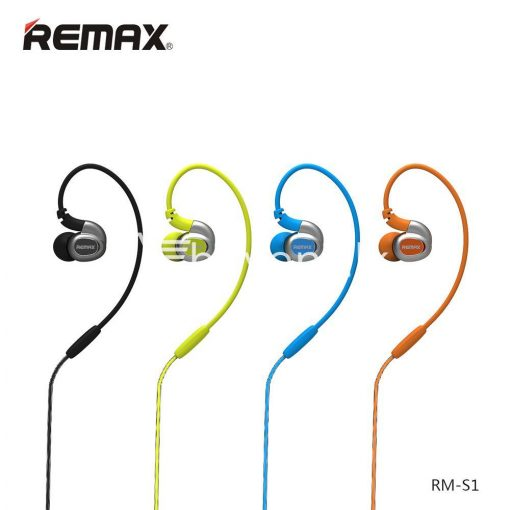 remax s1 stereo sport earphones deep bass music earbuds with microphone mobile phone accessories special best offer buy one lk sri lanka 48030 510x510 - Remax S1 Stereo Sport Earphones Deep Bass Music Earbuds with Microphone