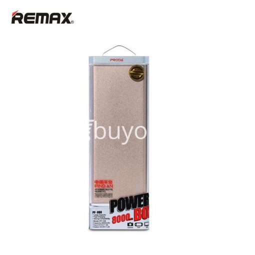 remax ultra slim power bank 8000 mah portable charger for iphone samsung htc lg mobile phone accessories special best offer buy one lk sri lanka 73704 510x510 - REMAX Ultra Slim Power Bank 8000 mAh Portable Charger For iPhone Samsung HTC LG