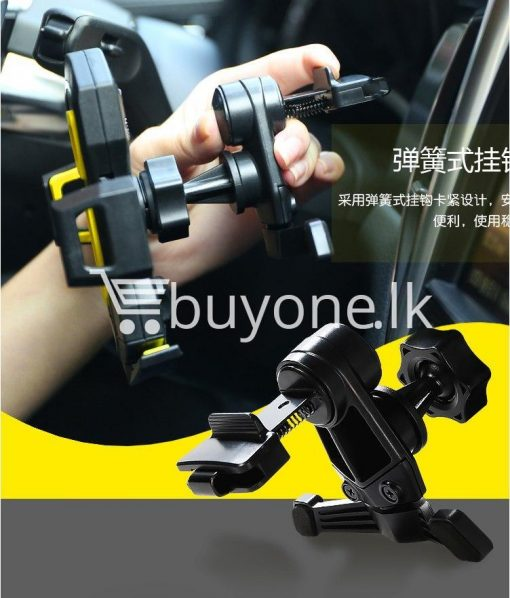 remax universal car airvent mount 360 degree rotating holder automobile store special best offer buy one lk sri lanka 89491 510x598 - REMAX Universal Car Airvent Mount 360 degree Rotating Holder