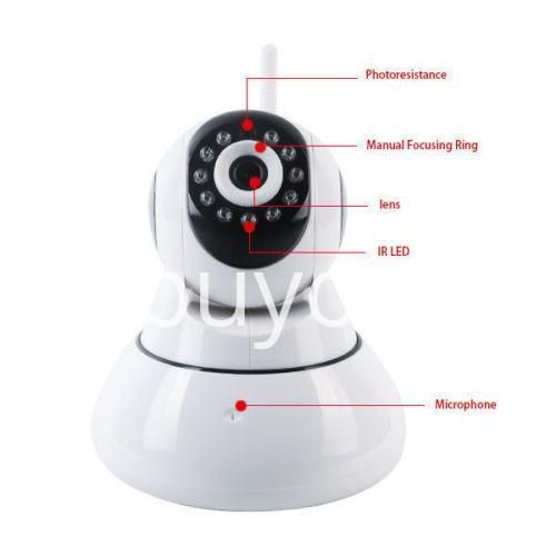 wifi smart net camera ip camera wireless with warranty camera store special best offer buy one lk sri lanka 12042 - Wifi Smart Net Camera IP Camera Wireless with Warranty