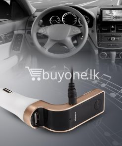 4 in 1 car g7 bluetooth fm transmitter with bluetooth car kit usb car charger automobile store special best offer buy one lk sri lanka 79910 247x296 - 4 in 1 CAR G7 Bluetooth FM Transmitter with Bluetooth Car kit USB Car Charger