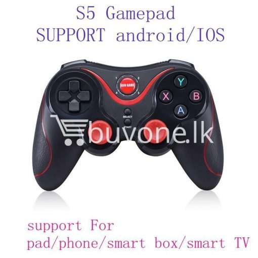 gen game s5 wireless bluetooth controller gamepad for ios android os phone tablet pc smart tv with holder special best offer buy one lk sri lanka 00568 510x510 - GEN GAME S5 Wireless Bluetooth Controller Gamepad For IOS Android OS Phone Tablet PC Smart TV With Holder